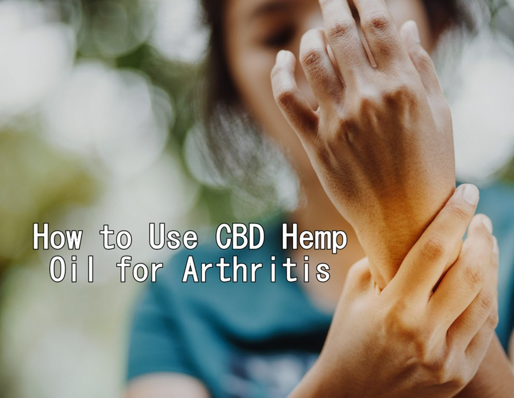 cbd hemp oil for arthritis pain