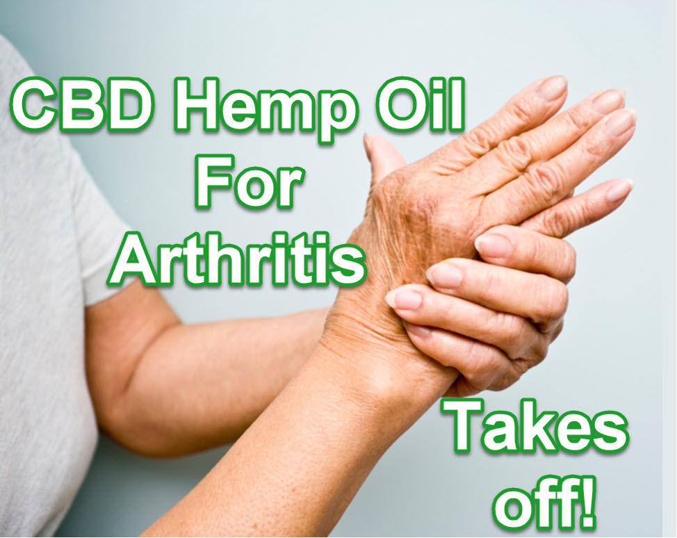 Hemp oil for arthritis