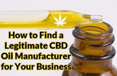cbd oil manufacturer