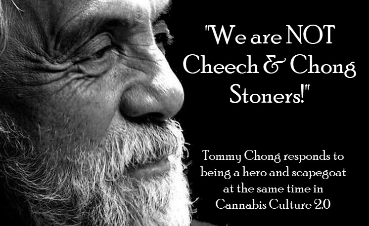 tommy chong on cheech and chong stereotype