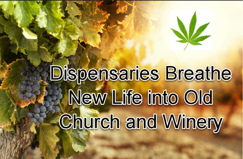 CHURCHES TURNED IN DISPENSARIES