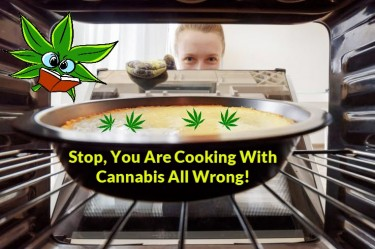 CANNABIS COOKING AT HOME AND BAKING