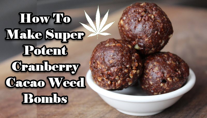 CRANBERRY CANNABIS BOMBS