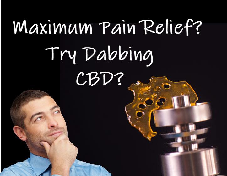 dabbing cbd