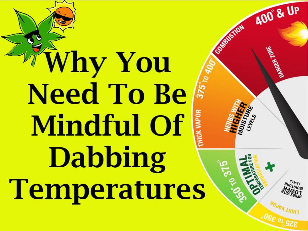 dabbing temperatures