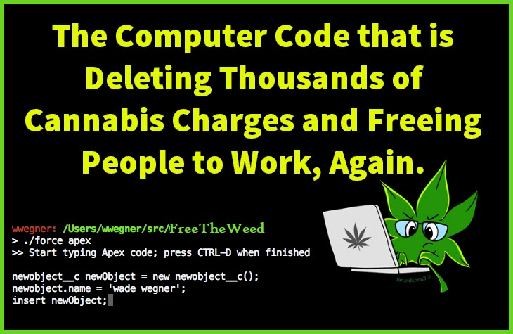 deleting cannabis records