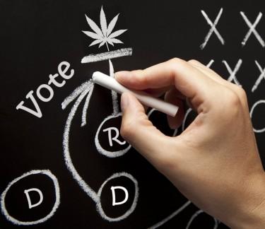 Democraten plannen voor legalisatie van marihuana
