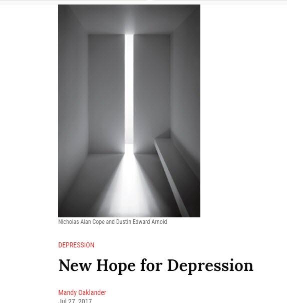 depression and ketamine