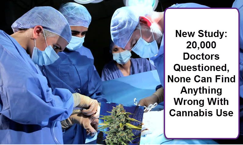 DOCTORS SEE NOTHING WRONG WITH MARIJUANA