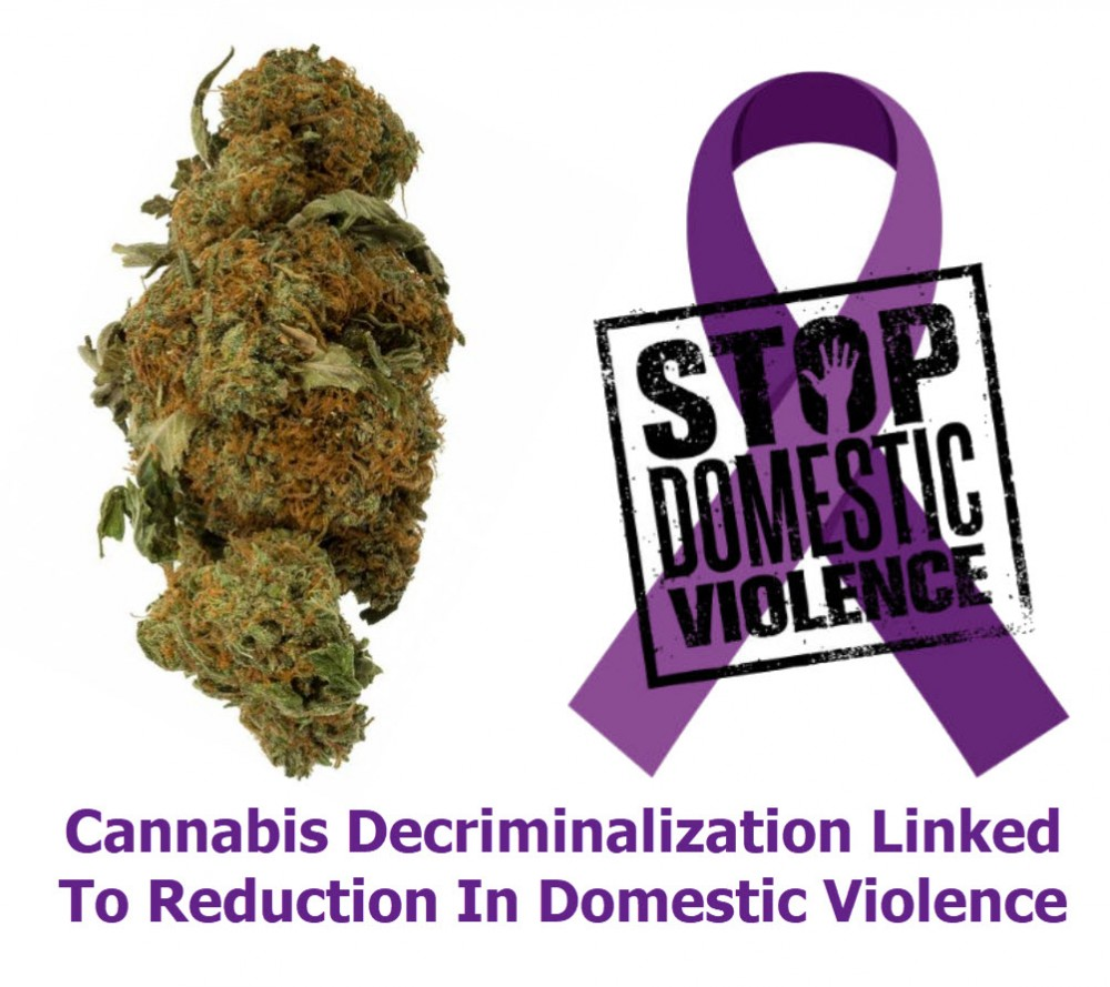 CANNABIS LOWERS DOMESTIC VIOLENCE