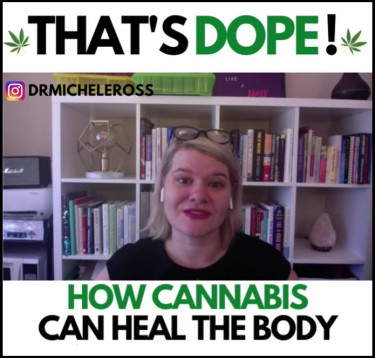 dr. michele ross on cannabis