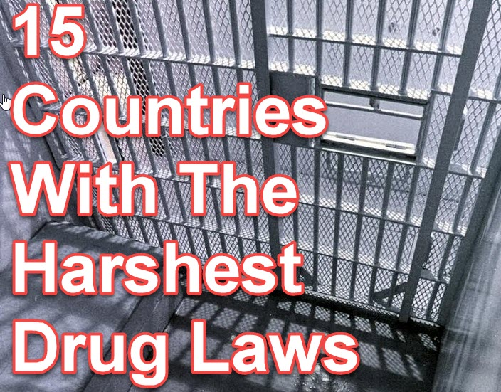 HARSHEST DRUG LAWS FOR WEED