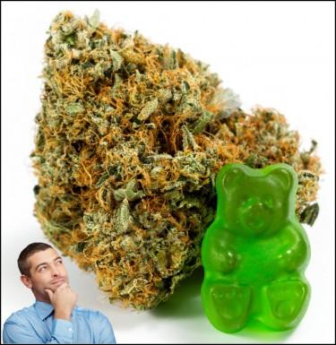 cannabis edibles don't get you high