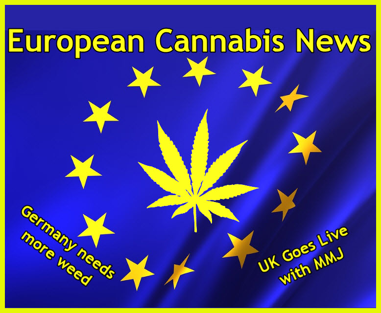 EUROPEAN MARIJUANA NEWS ALERTS