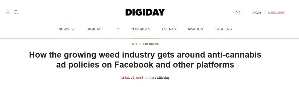 digiday on facebook policy