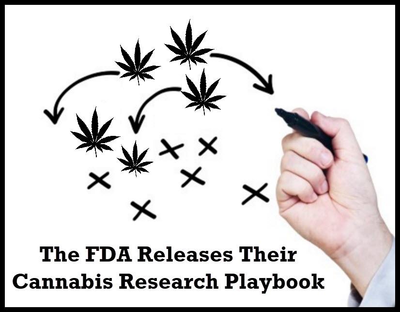 fdacannabis - The FDA Releases Their Cannabis Research Playbook