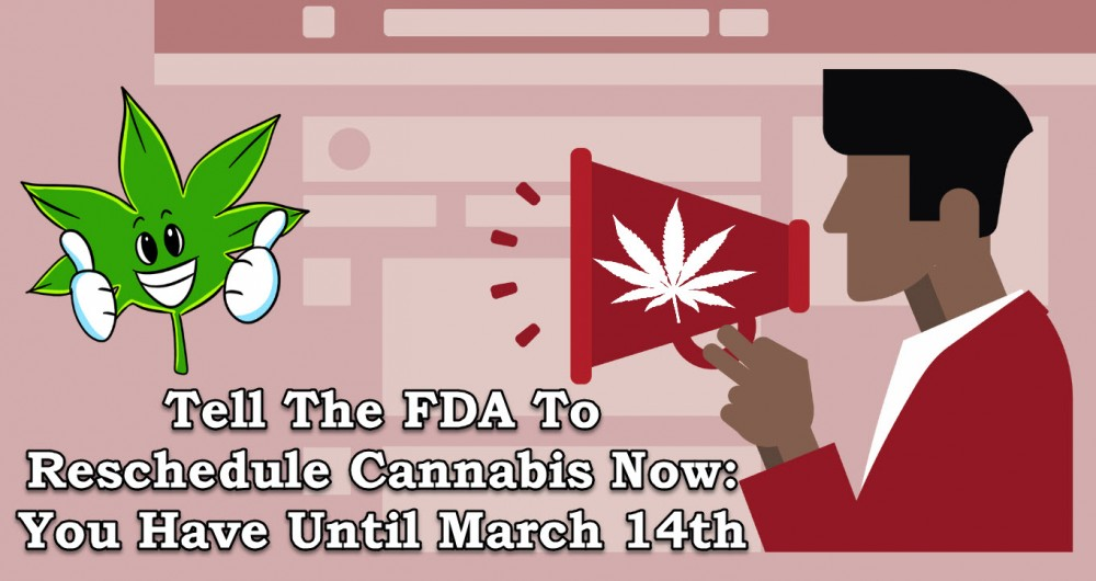 fda to reschedule cannabis