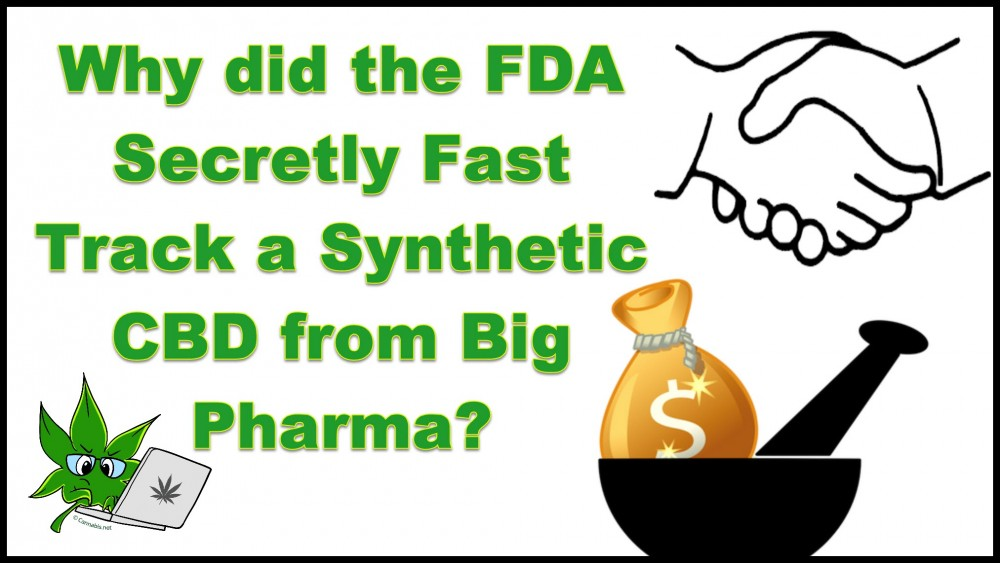 FDA ON CBD FROM BIG PHARMA