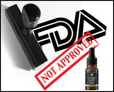 FDA rejects CBD as dietary supplement