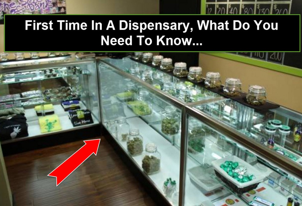 FIRST TIME IN A DISPENSARY