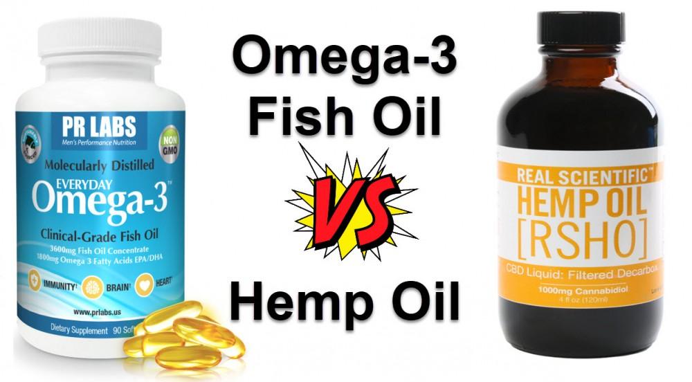 fish oil or hemp oil