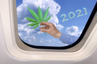 flying with weed in 2021