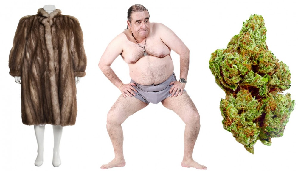 furweedporn - Discussing the Morality of Marijuana as Compared to Gay Porn and Wearing Animal Fur