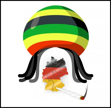 JAMAICA SENDS WEED TO GERMANY