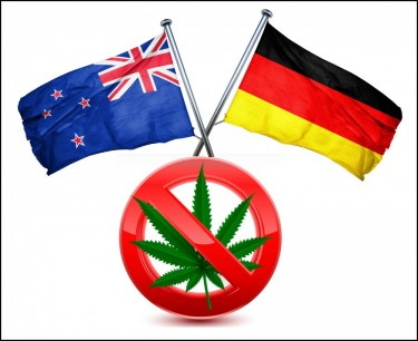 NEW ZEALAND OR GERMANY VOTE NO ON MARIJUANA