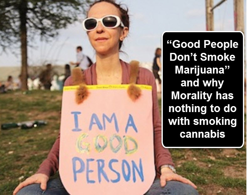 goodperson - Discussing the Morality of Marijuana as Compared to Gay Porn and Wearing Animal Fur