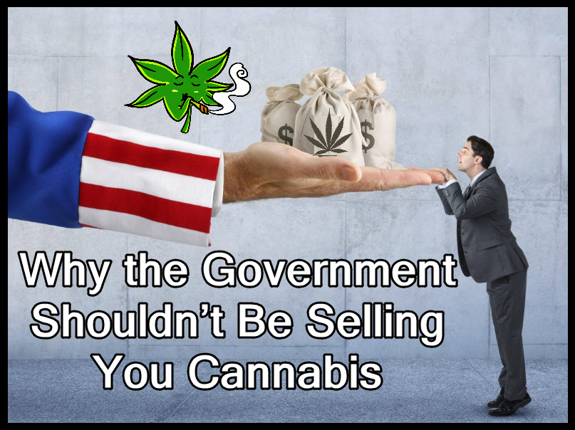 government selling cannabis