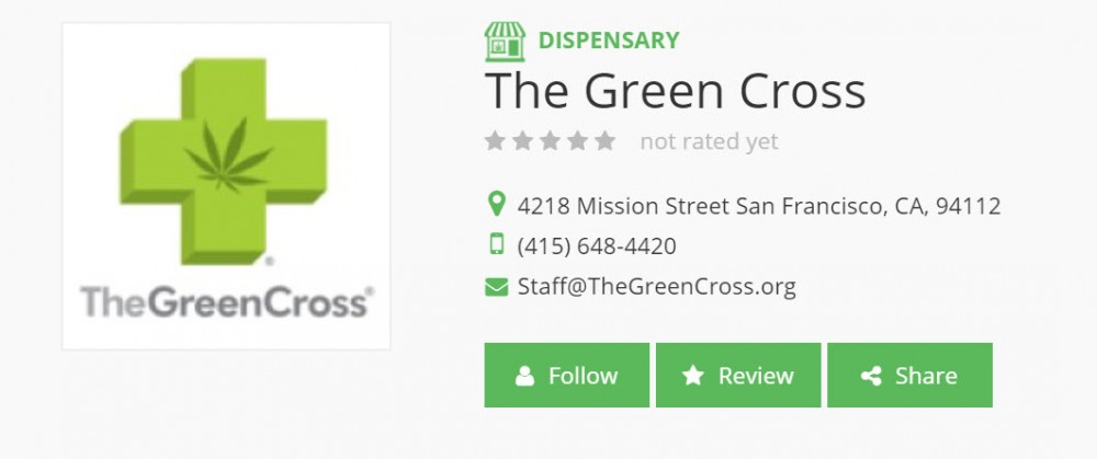green cross dispensary
