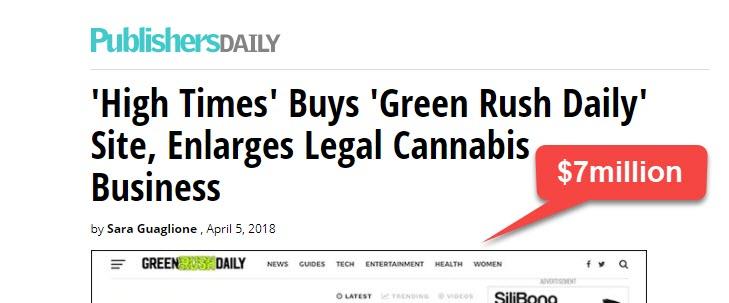 green rush media deal