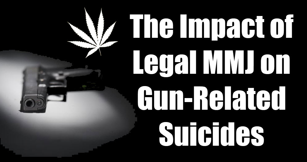GUN SUICIDES AND CANNABIS LAWS