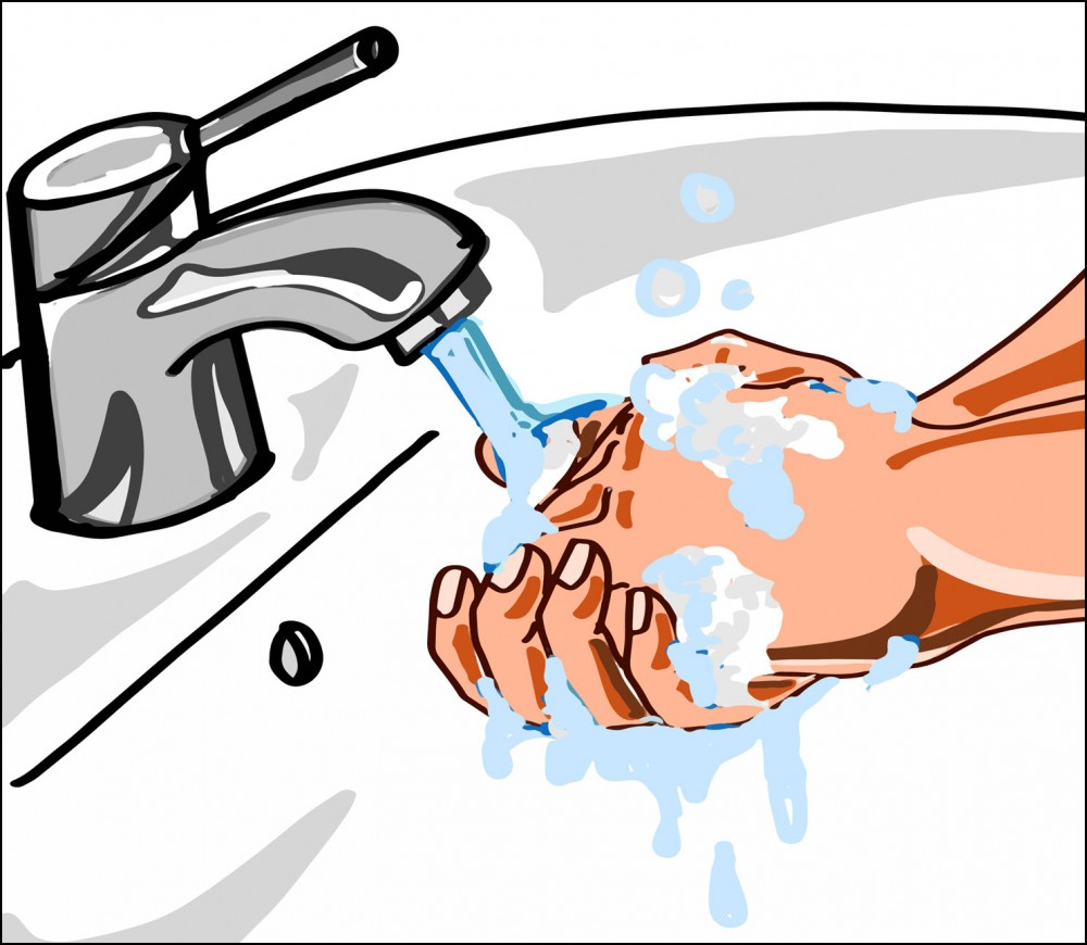 hand washing and cbd