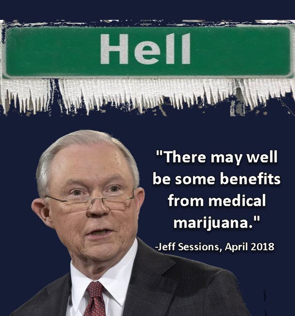 hell froze over as jeff sessions likes weed