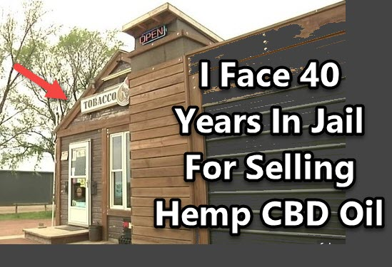 JAIL FOR SELLING CBD