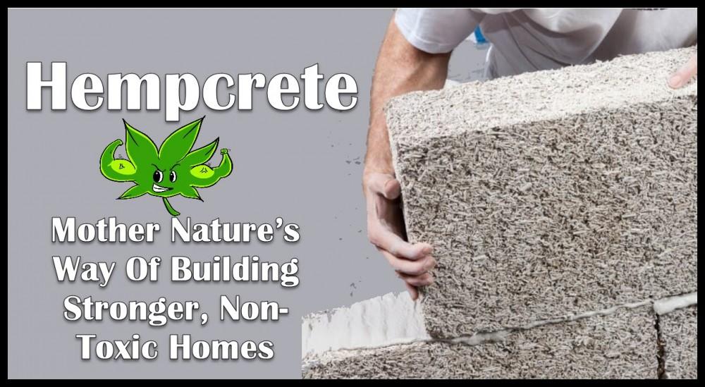 hempcrete bricks and homes