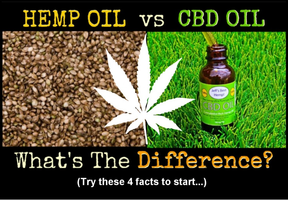 HEMP OIL OR CBD OIL WHAT IS THE DIFFERENCE