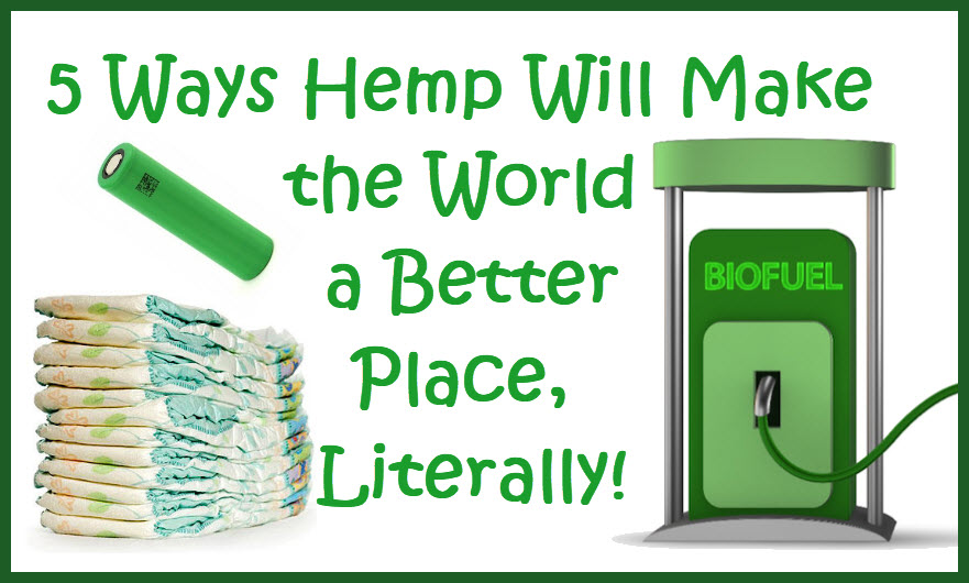 hemp products for saving the world