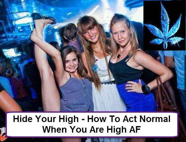 HOW TO HIDE YOUR HIGH
