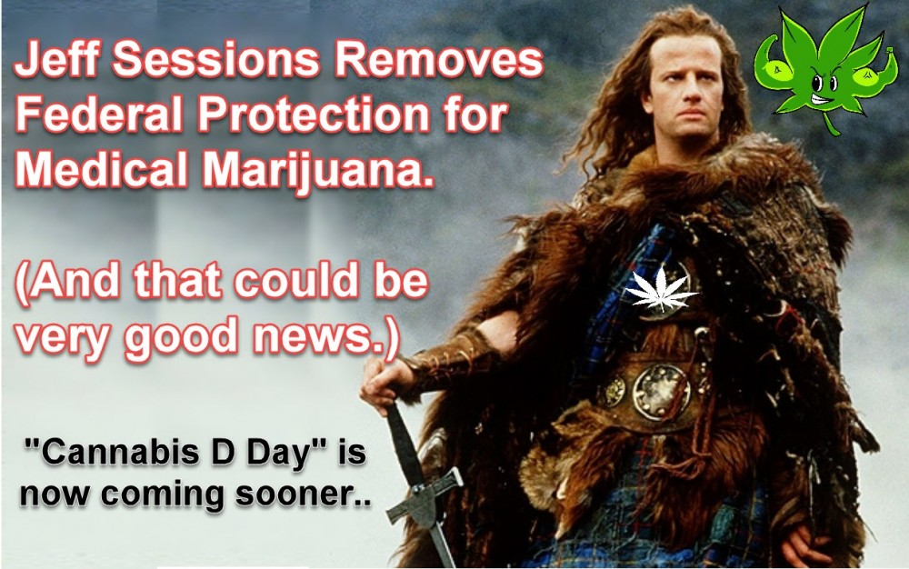 JEFF SESSIONS FORCES CANNABIS D DAY