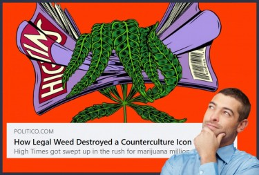 HIGH TIMES AND CORPORATE CANNABIS