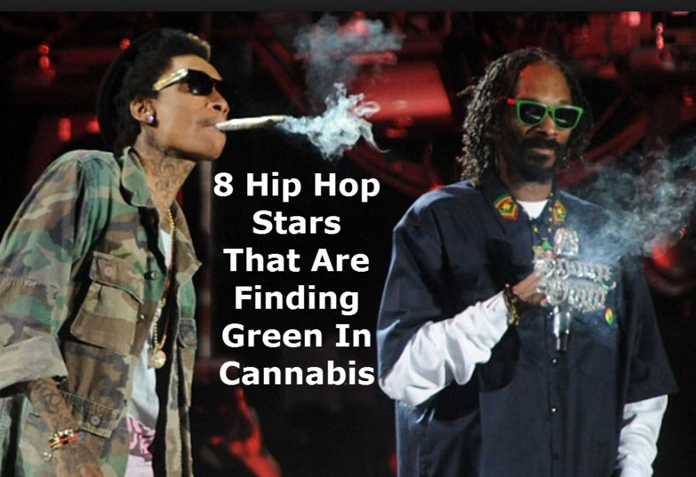 HIP HOP STARS INTO WEED