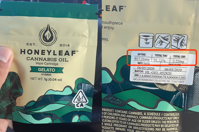honey leaf thc oil review