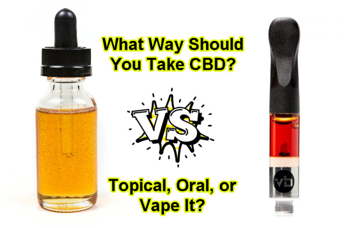 WHAT IS THE BEST WAY TO TAKE CBD