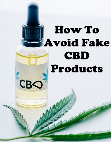 HOW TO AVOID FAKE CBD AND CANNABIS PRODUCTS ONLINE