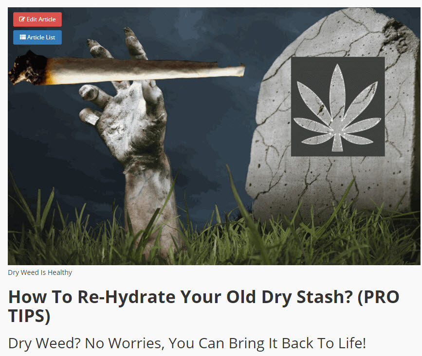 HYDRATE WEED