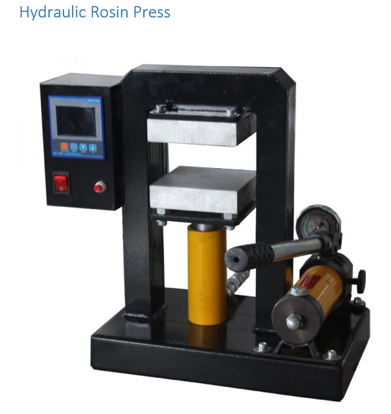 hyrdolic rosin press