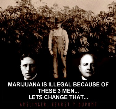 WHY IS WEED ILLEGAL 3 MEN
